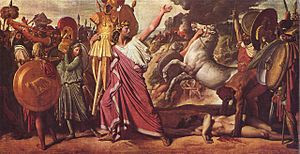 Romulus, Victor over Acron, hauls the rich boo...