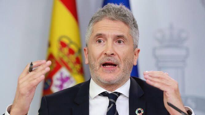 """El Gobierno español se retracta, Marlaska desde Argel: """"el peligro en la zona """"procede de Mali""""."""