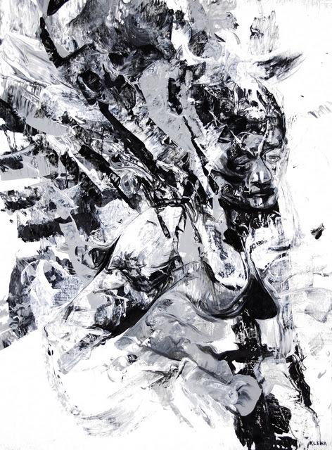 Jeff Klena Artwork: depression in time | Original Painting ...
