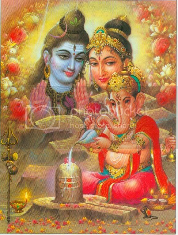 Shiva Shakti Kritam Ganadhisha Stotram Lyrics