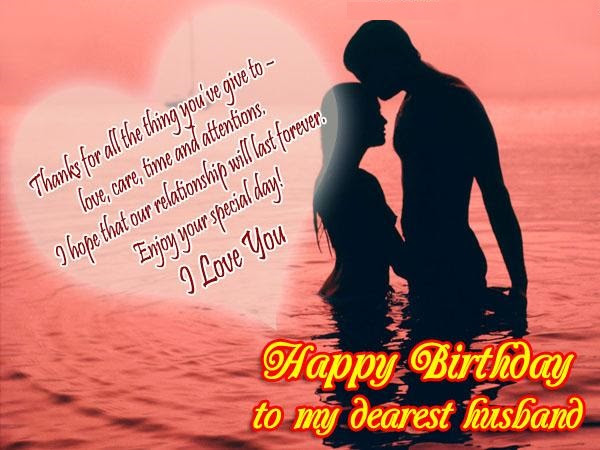 Romantic Birthday Wishes For Husband Romantic Messages For Hubby