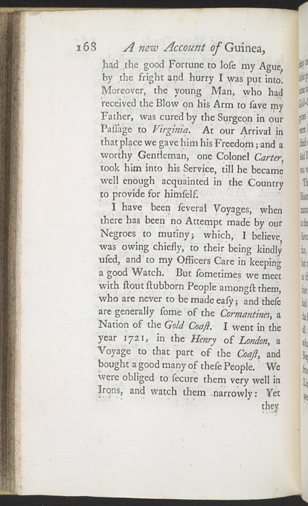 A New Account Of Some Parts Of Guinea & The Slave Trade -Page 168