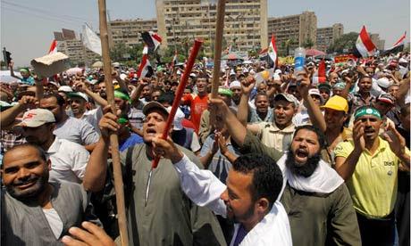 Egipto protesta 2013 Mohamed Morsi partidarios