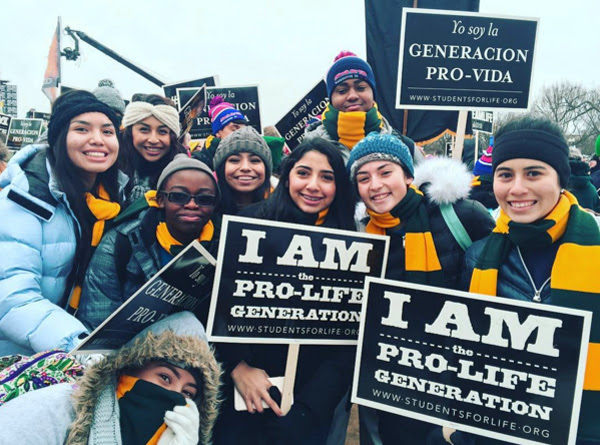 2016 March for Life activists arrive all the way from Phioenix, Arizona (Photo: Instagram/March for Life)