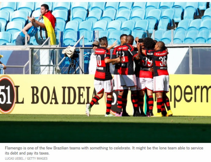 Flamengo, The New York Times