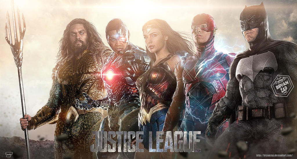 New Justice League Wallpaper by Bryanzap on DeviantArt