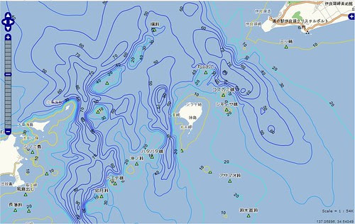 釣りポイント(愛知県、伊良湖岬)