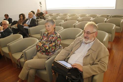 Neli Zaitegi y Rafael Mendía