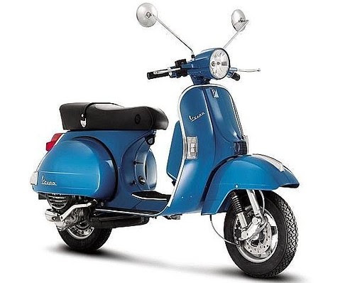 "The ""new"" 2011 Vespa PX"