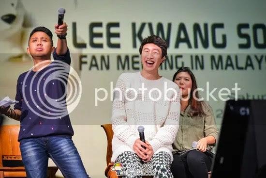 lee kwang soo di Malaysia