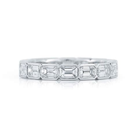 Best 25  Emerald cut eternity band ideas on Pinterest