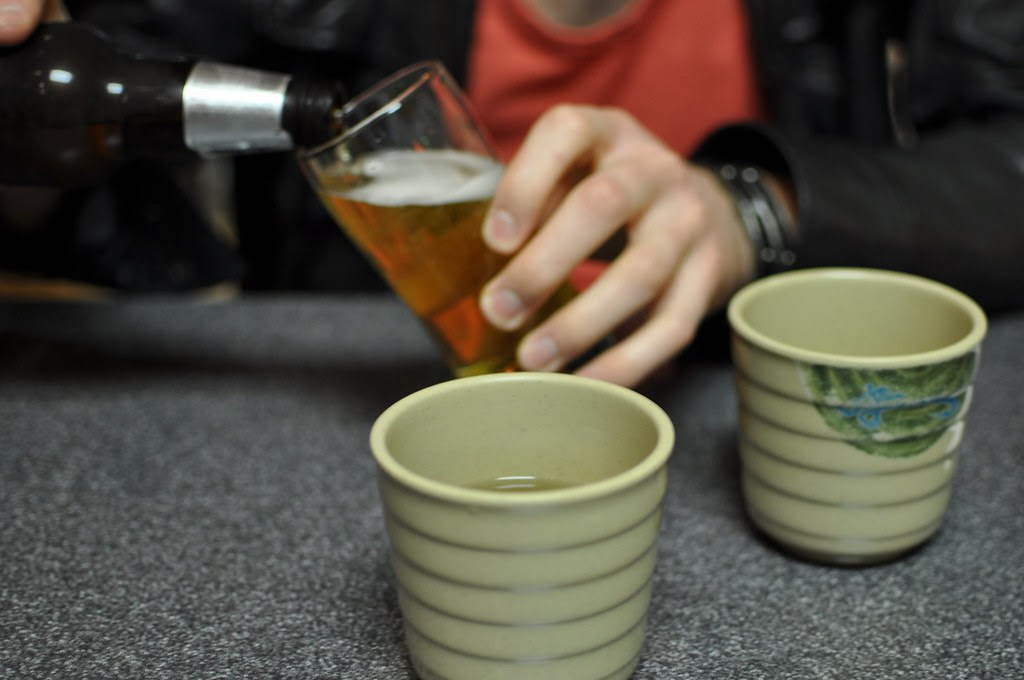 tea and beer