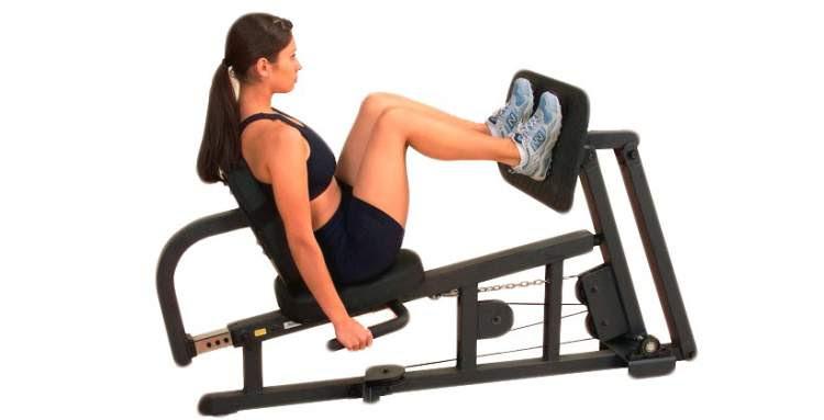 Um dos exercícios que mais engrossam pernas e coxas é o leg press