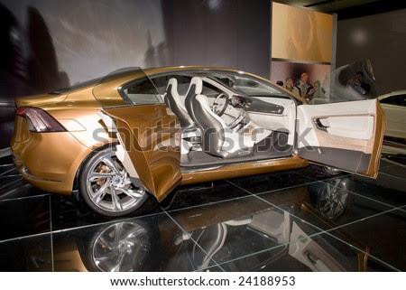 Volvo S60 Concept Car. Volvo S60 concept car is