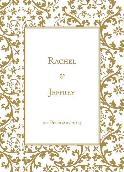 wedding invitations borders gold dreamday invitations gold