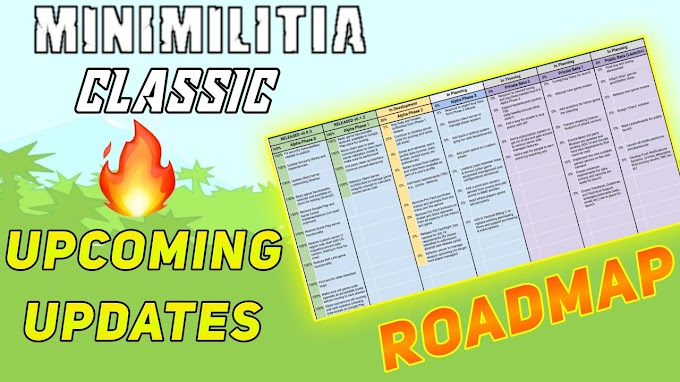 Mini Militia Classic This Year's Roadmap | Mini Militia Classic Upcoming Update