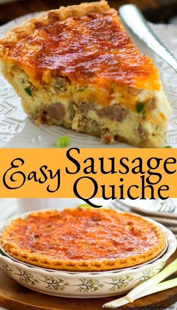 Easy Sausage Quiche