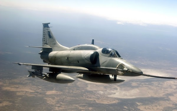 A-4AR Fuerza Aérea de Argentina (Imagen: FAA)