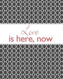 Love free printable