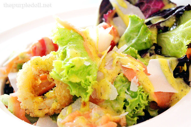 Smoked Salmon Salad P280