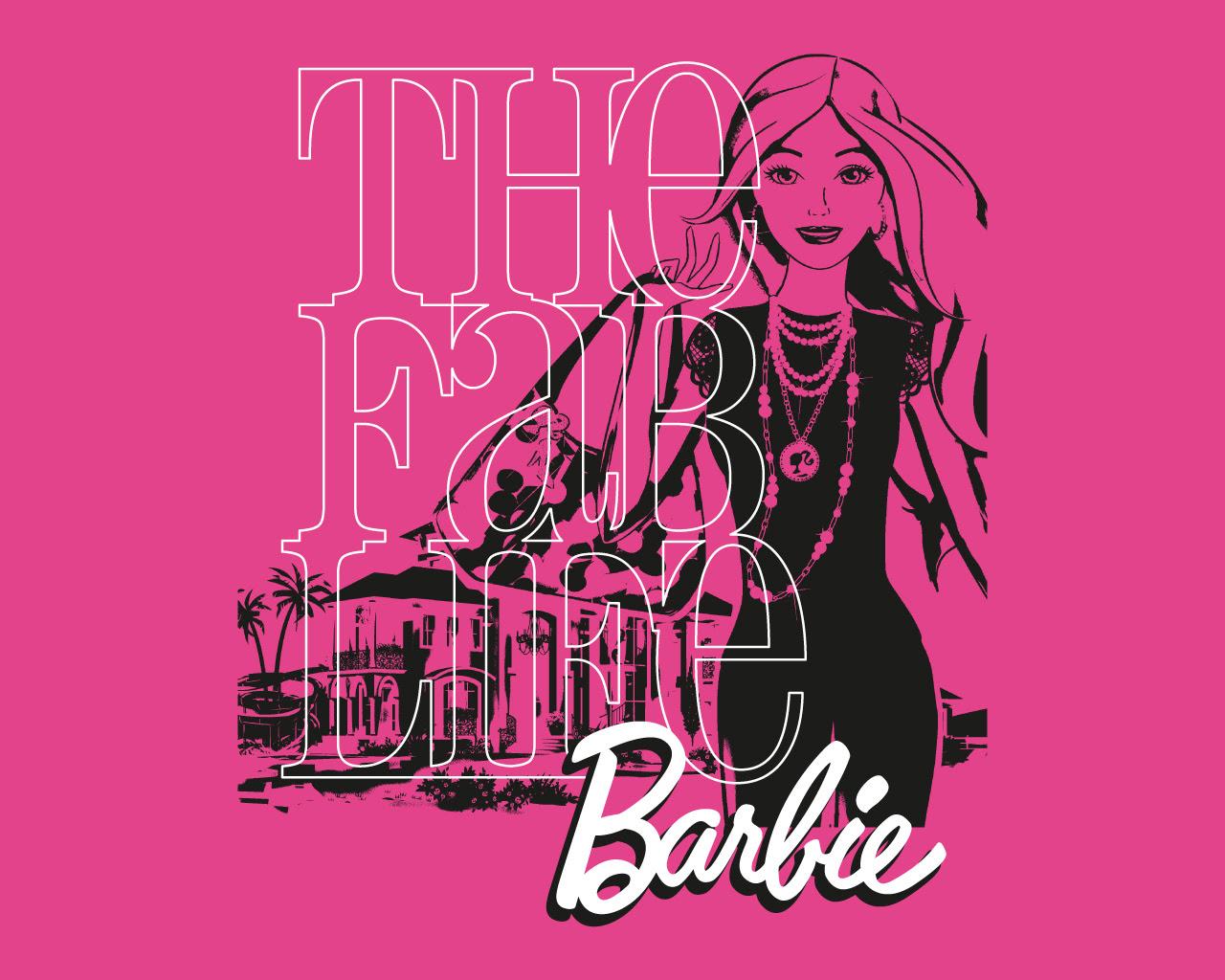 Pink Barbie Wallpaper Hd