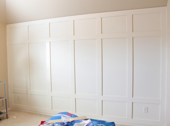 How To The Paneled Wall Decorchick
