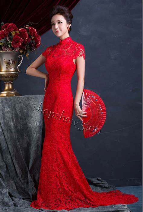 Chinese Wedding Dress QiPao Kwa Cheongsam Latest Fashion