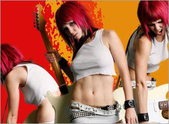 Creating a Grunge Rock Poster image 8