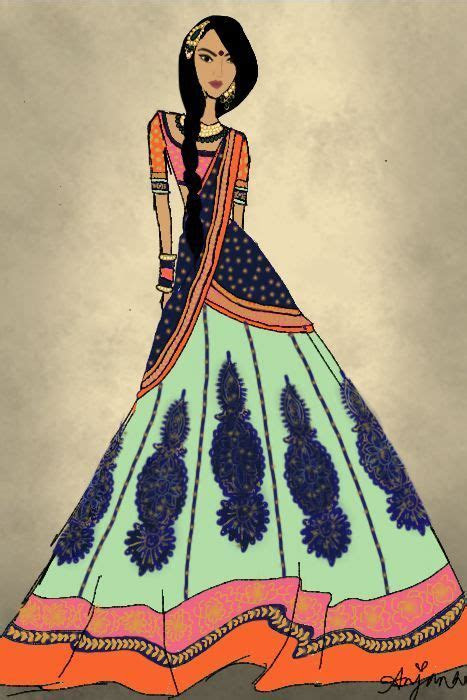anjana   CROQUIS   Pinterest   Tribal style, Indian and