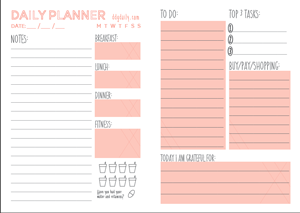 1000+ images about Organized on Pinterest | Daily planners, Blank ...