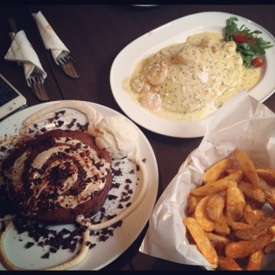 Late lunch!:D (Taken with Instagram)