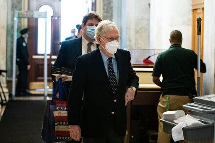 TREND ESSENCE:McConnell Blocks Vote on $2,000 Checks Despite G.O.P. Pressure