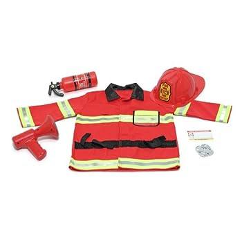 Melissa & Doug - 14834 - Déguisement - Fire Chief Role Play Set