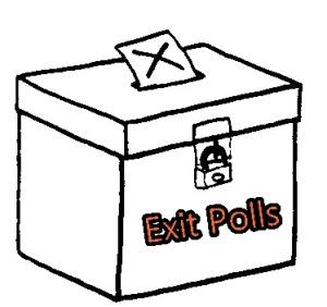 exit polls election 2014