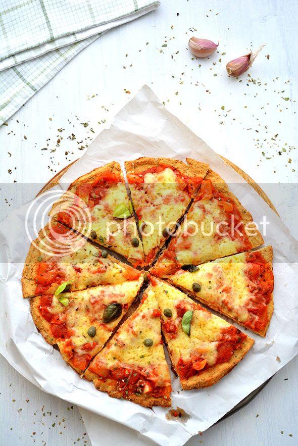 je kunt deze pizza gewoon in stukken snijden