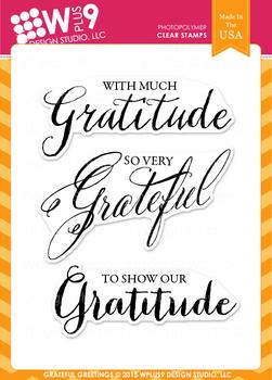 Wplus9 Grateful Greetings