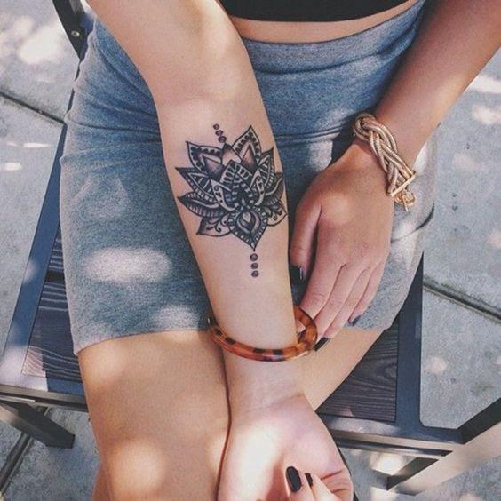 Tattoos Lindísimos De Mandalas Que Sanarán Tu Corazoncito
