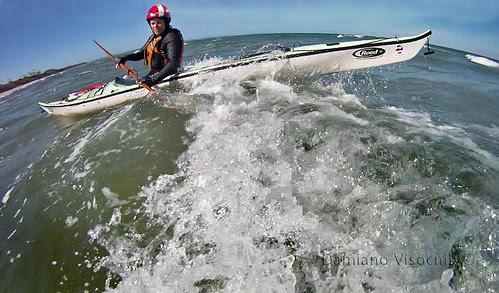 reversing on wave (c)