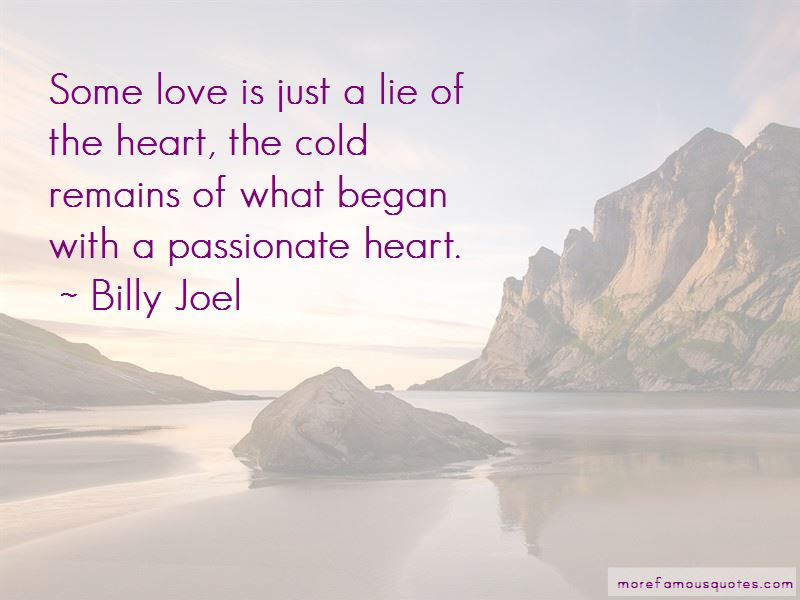 Love Is Just A Lie Quotes Top 49 Quotes About Love Is Just A Lie