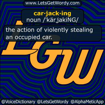 carjacking 06/18/2018 GFX Definition