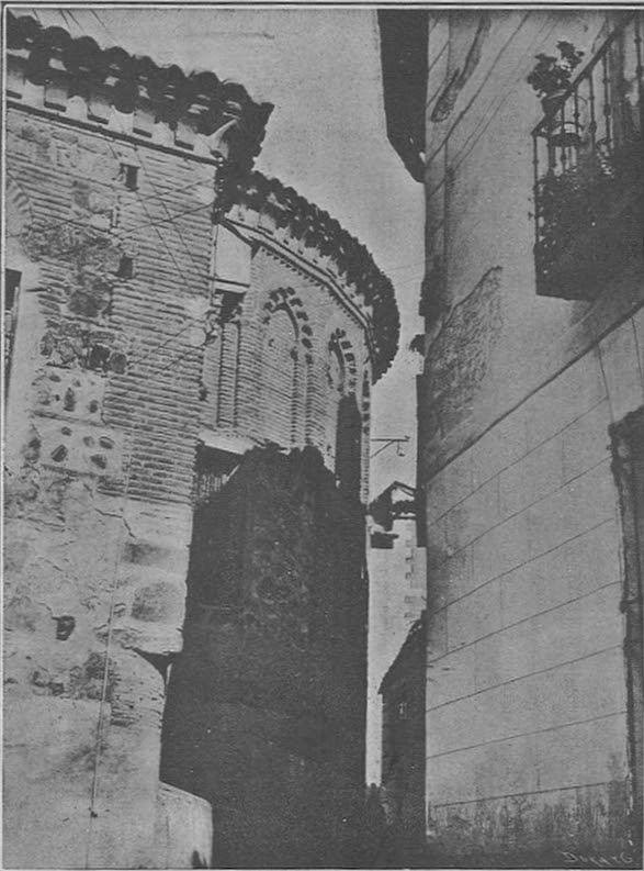 Ábside de la Iglesia de San Justo, principios siglo XX