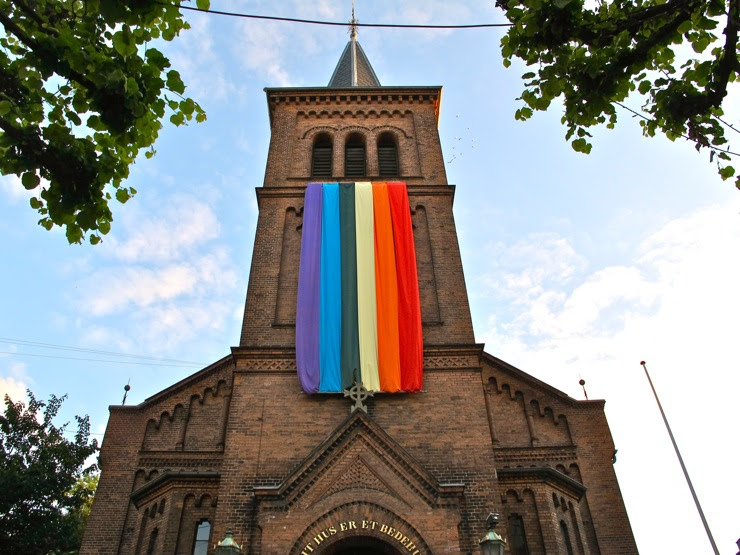 Gay couples can now legally get married in the Danish church