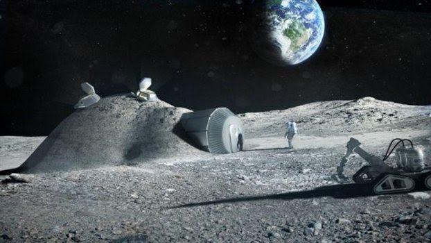 perierga.gr - Ρομπότ θα κατασκευάζουν σπίτια στη Σελήνη!