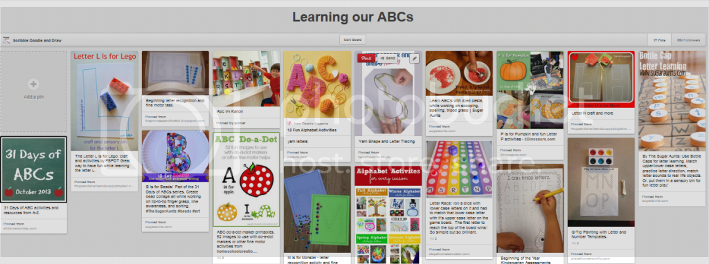 http://www.pinterest.com/clanyon/learning-our-abcs/