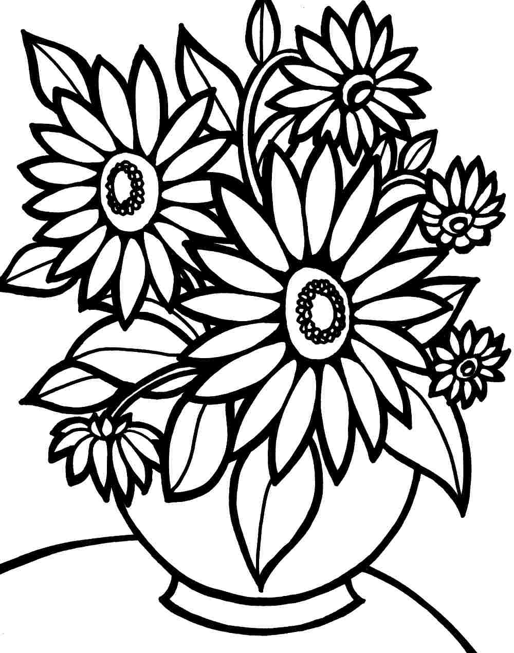 Large Print Coloring Pages For Adults at GetColorings.com ...