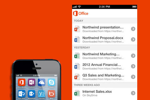 Microsoft Office, iPhone