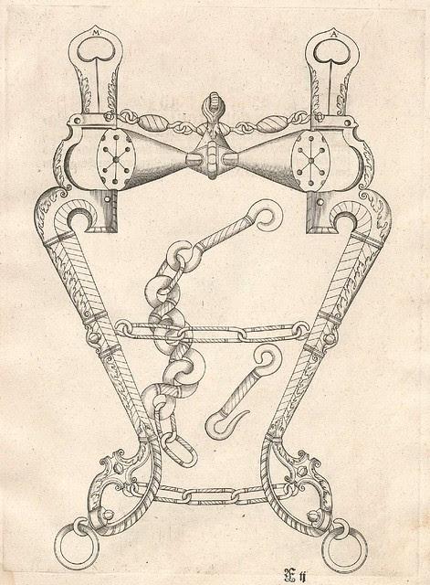 Pferdegebisse by Mang Seuter, 1614 (2)
