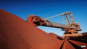 BHP Billiton Western Australia iron ore mine -  Australia Economy