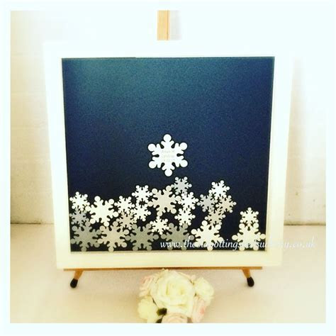 Winter wedding inspired drop top guest book. A fully