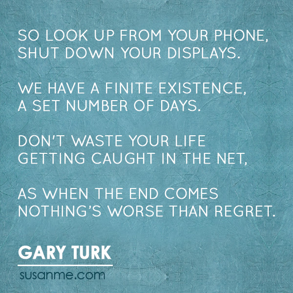 Look Up From Your Phone Digital Distraction